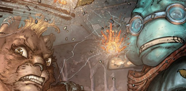 'TMNT Universe' #11 gets to the heart of the cybertronic matter