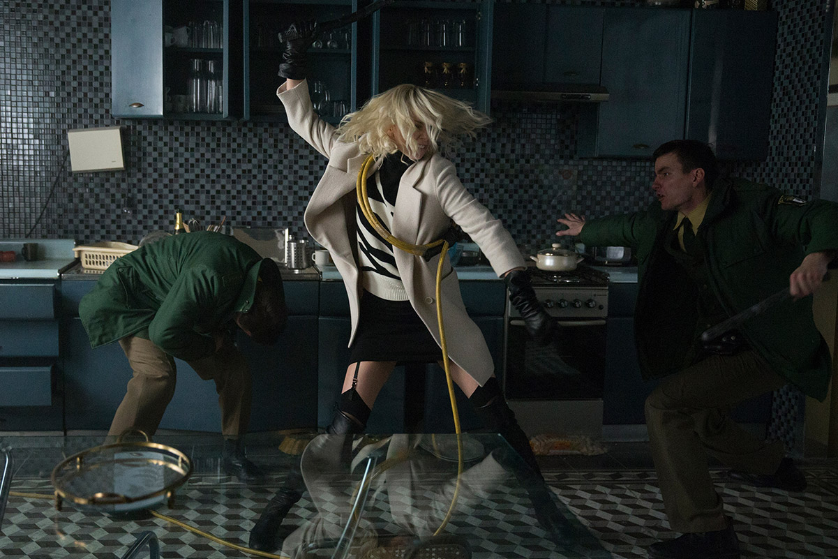 'Atomic Blonde', out now from Focus Features