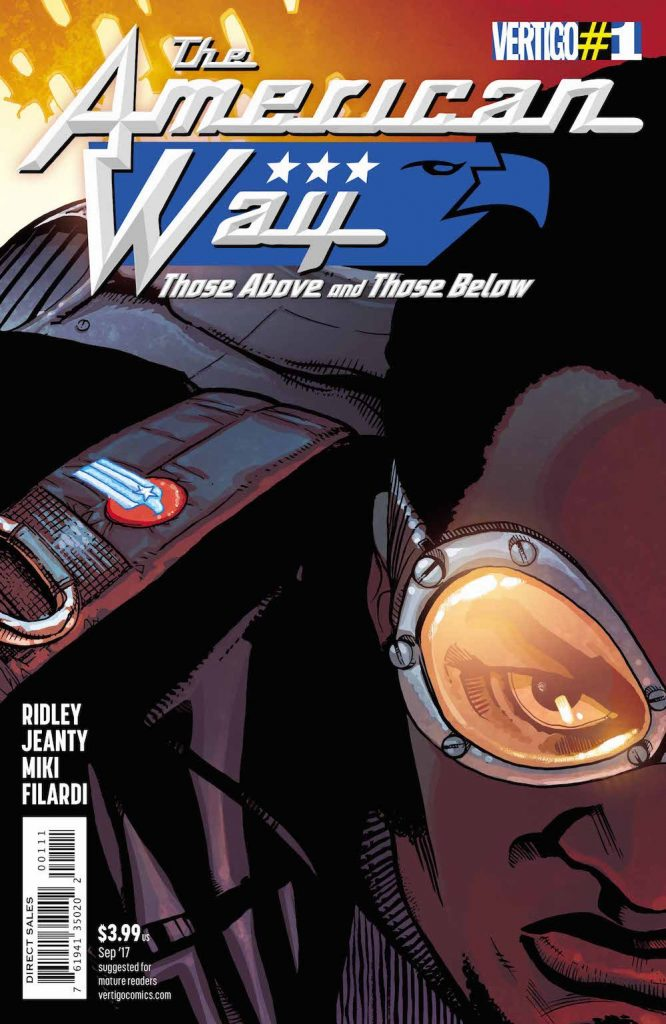 Cover to 'The American Way: Those Above and Those Below' #1. Art by Georges Jeanty and Danny Miki/Vertigo/DC Comics