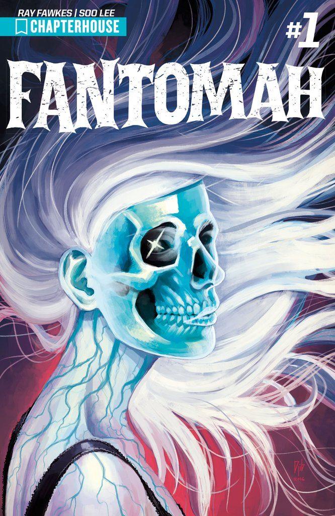 Cover to 'Fantomah' #1. Art by Djibril Morrisette/Chapterhouse Comics