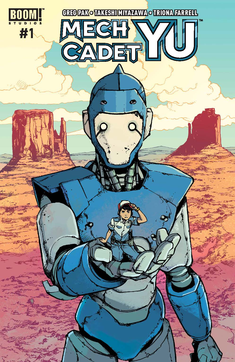 'Mech Cadet Yu' #1, out soon from BOOM! Studios