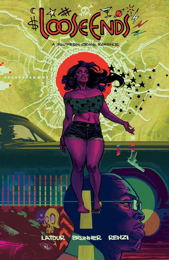 Cover to 'Loose Ends' TPB. Art by Chris Brunner and Rico Renzi/Image Comics