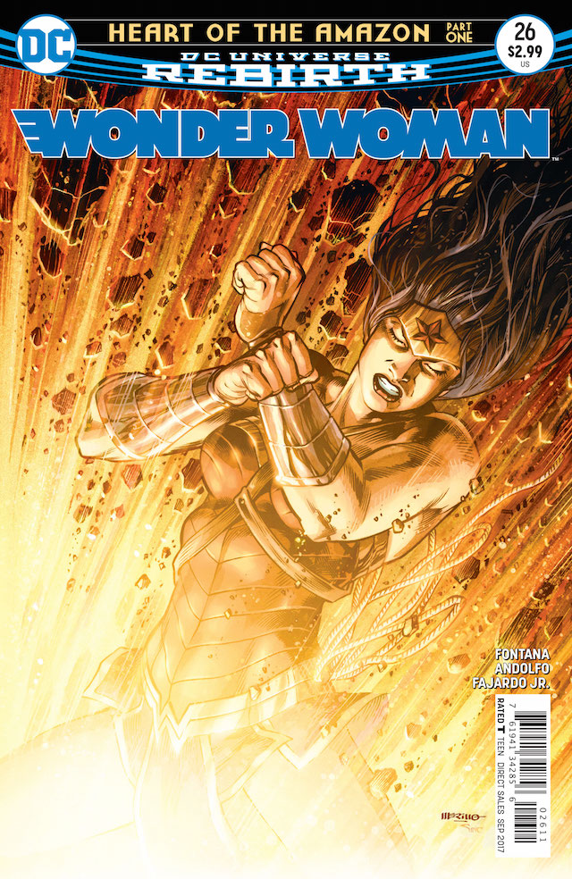 'Wonder Woman' #26 is reviewed in this week's installment of CASUAL WEDNESDAYS