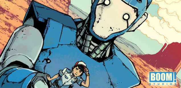 Preview: 'Mech Cadet Yu' tells the age-old tale of a boy and his jaeger