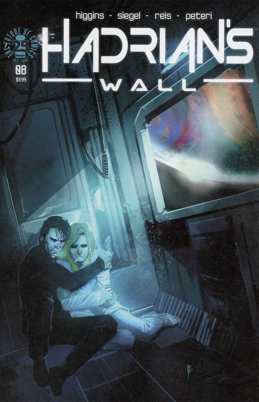 Cover to 'Hadrian's Wall' #8. Art by Rod Reis/Image Comics