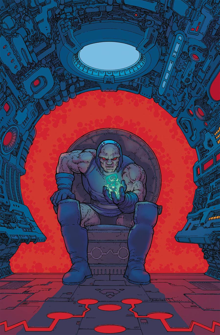 Darkseid Special #1, by Chris Burnham and Nathan Fairbairn. (DC Comics)