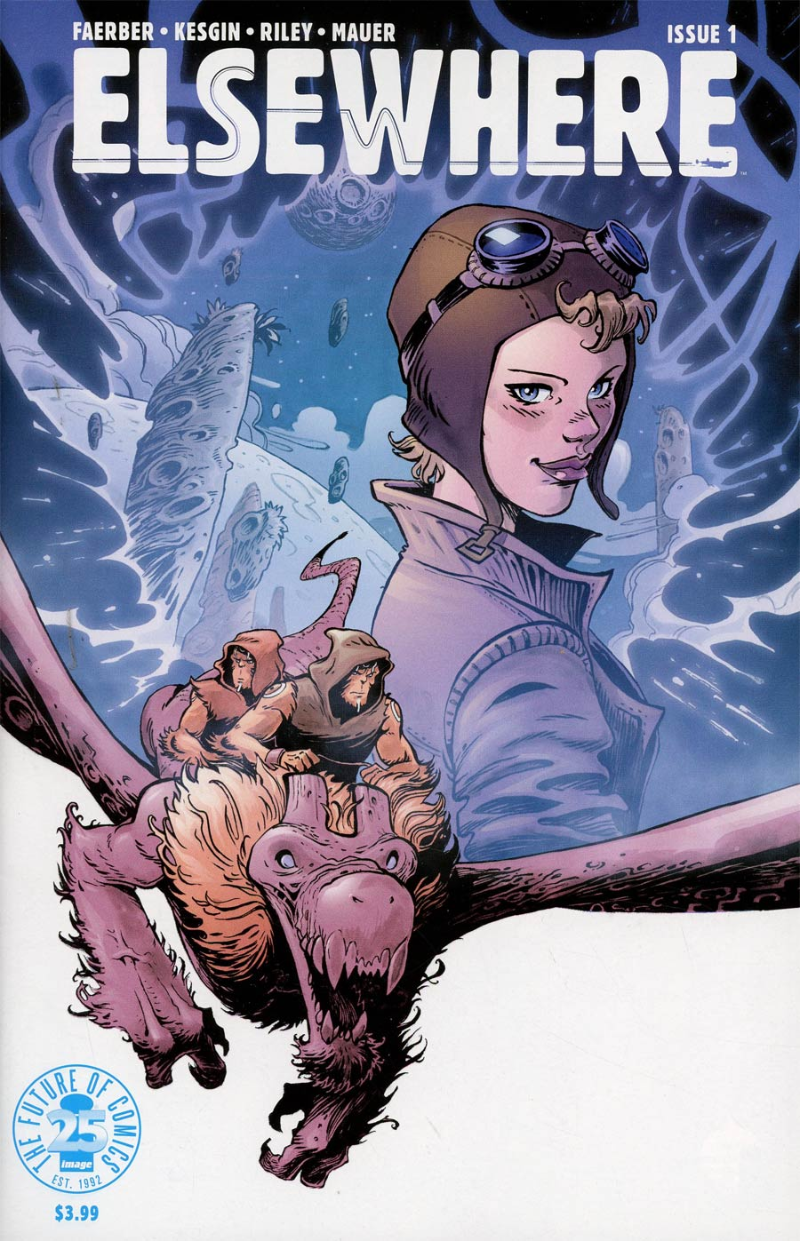 Cover to 'Elsewhere' #1. Art by Sumeyye Kesgin and Ron Riley/Image Comics
