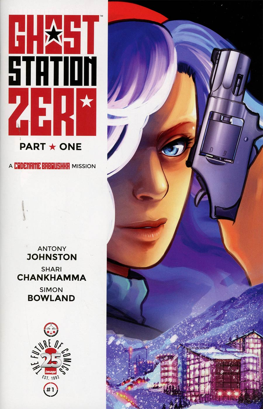 Cover to 'Ghost Station Zero' #1. Art by Shari Chankhamma/Image Comics