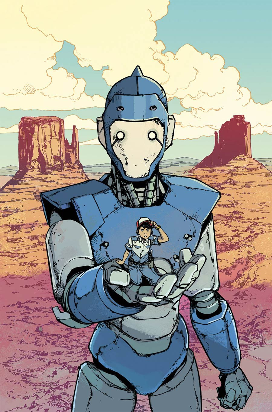 Mech Cadet Yu #1, by Takeshi Miyazawa and Triona Farrell (BOOM! Studios)