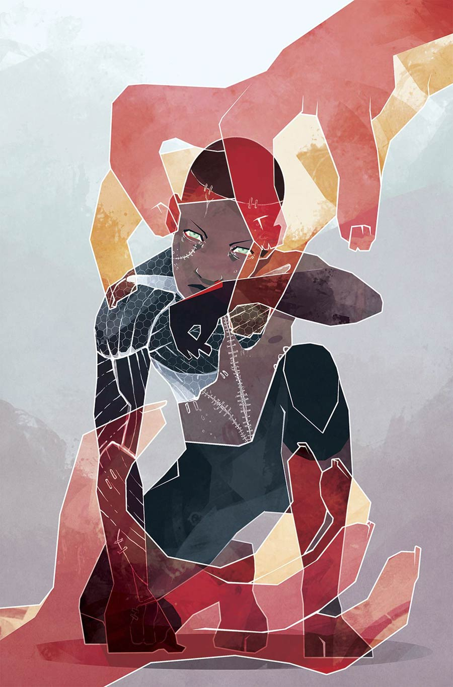 Victor LaValle's Destroyer #4, by Micaela Dawn. (BOOM! Studios)
