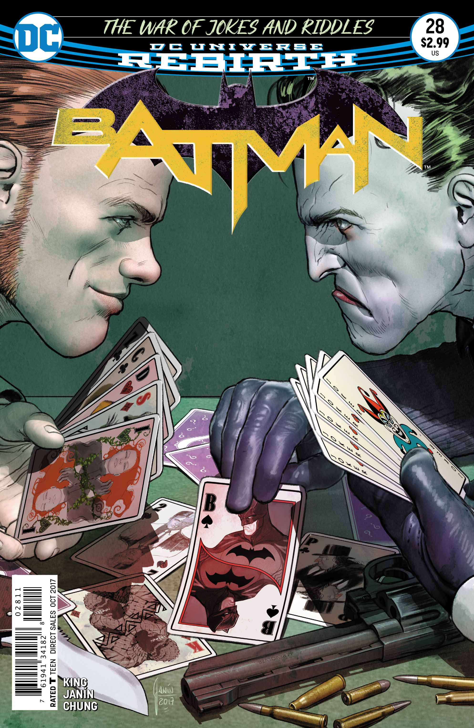 'Batman' #28, in stores now from DC Comics
