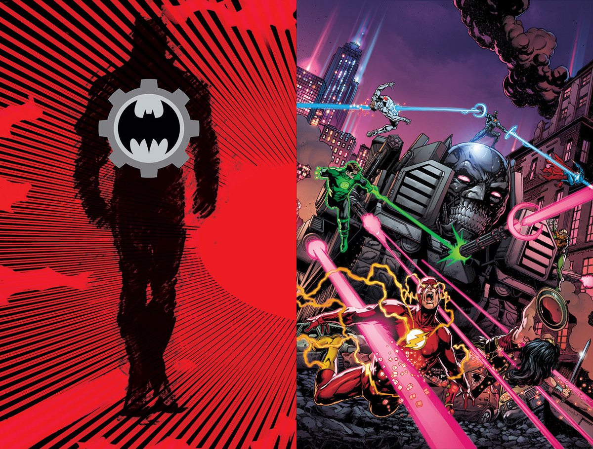 Cover to 'Batman: The Murder Machine' #1. art by Jason Fabok and Brad Anderson/DC Comics