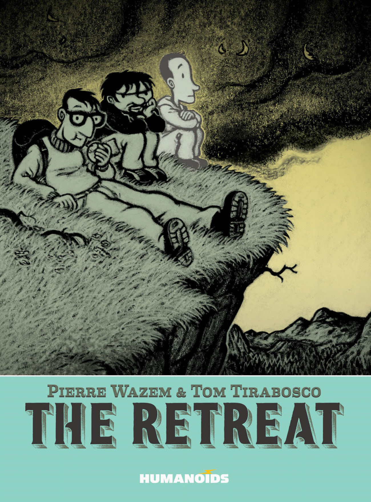 'The Retreat' softcover trade, out soon from Humanoids