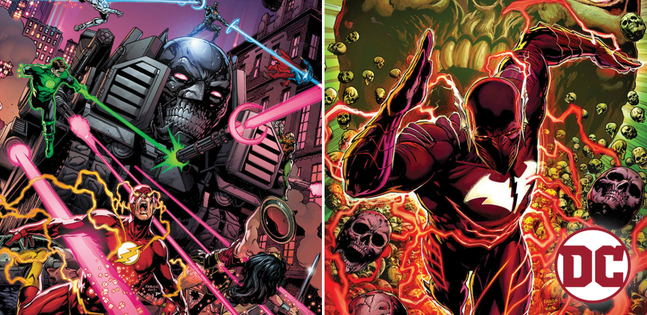 "Fun-filled Batman books, ""The Red Death"", ""The Murder Machine"", out soon"