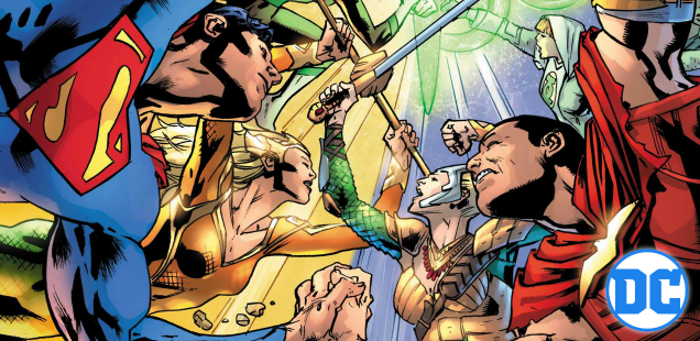 Exclusive Preview: The Super-Kids are here and it's gonna get weird in 'Justice League' #27