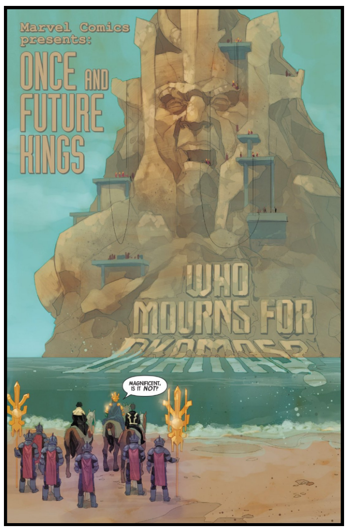 Interior page from 'Inhumans: Once and Future Kings' #1. Art by Phil Noto/Marvel Comics