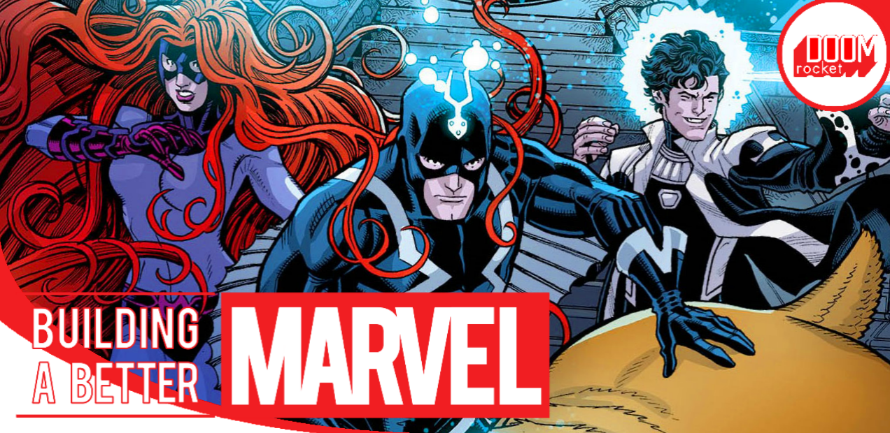 Between sophistication and intrigue, that's where 'Inhumans: Once and Future Kings' lies