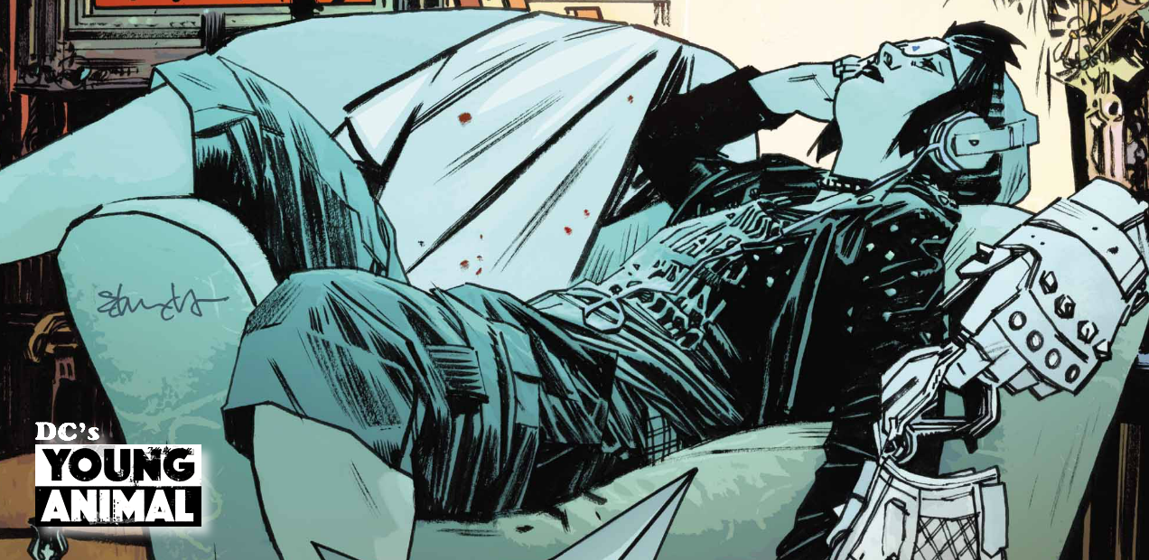 Violet Page is rested and ready to rip in this exclusive preview of 'Mother Panic' #10