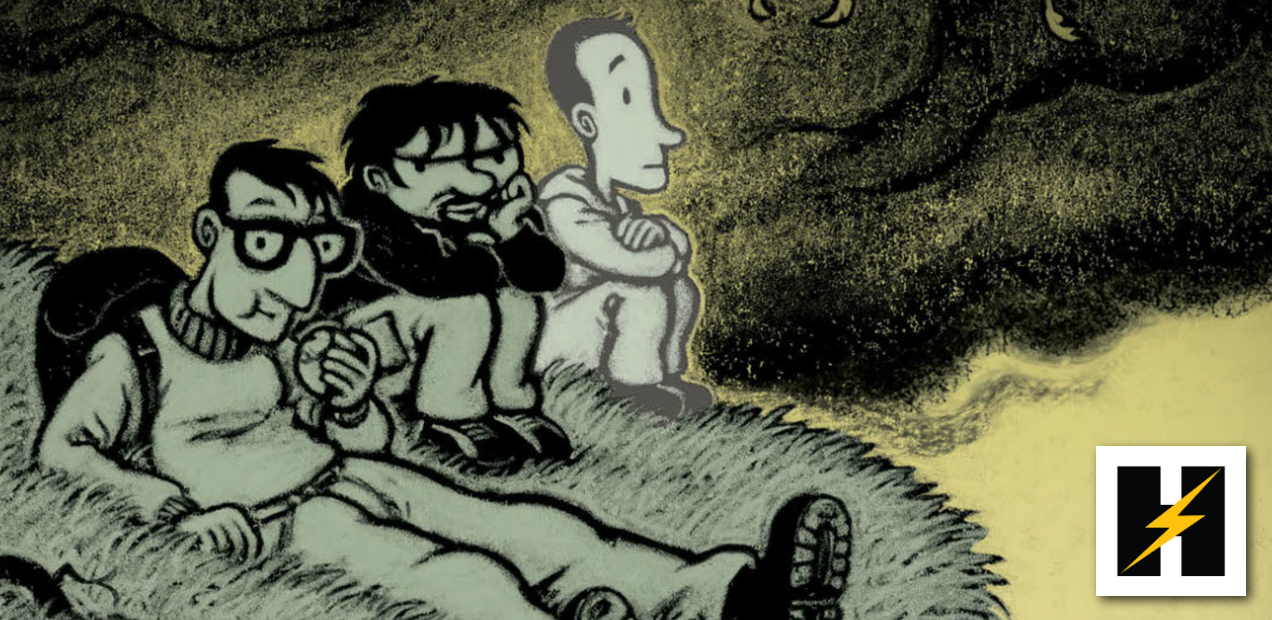 Preview: Two friends cope with loss in Humanoids' 'The Retreat'