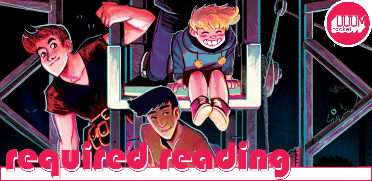 Explore the enchanted world of 'The Backstagers', prepare for feels