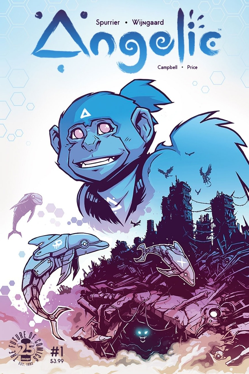 Cover to 'Angelic' #1. Art by Caspar Wijngaard/Image Comics
