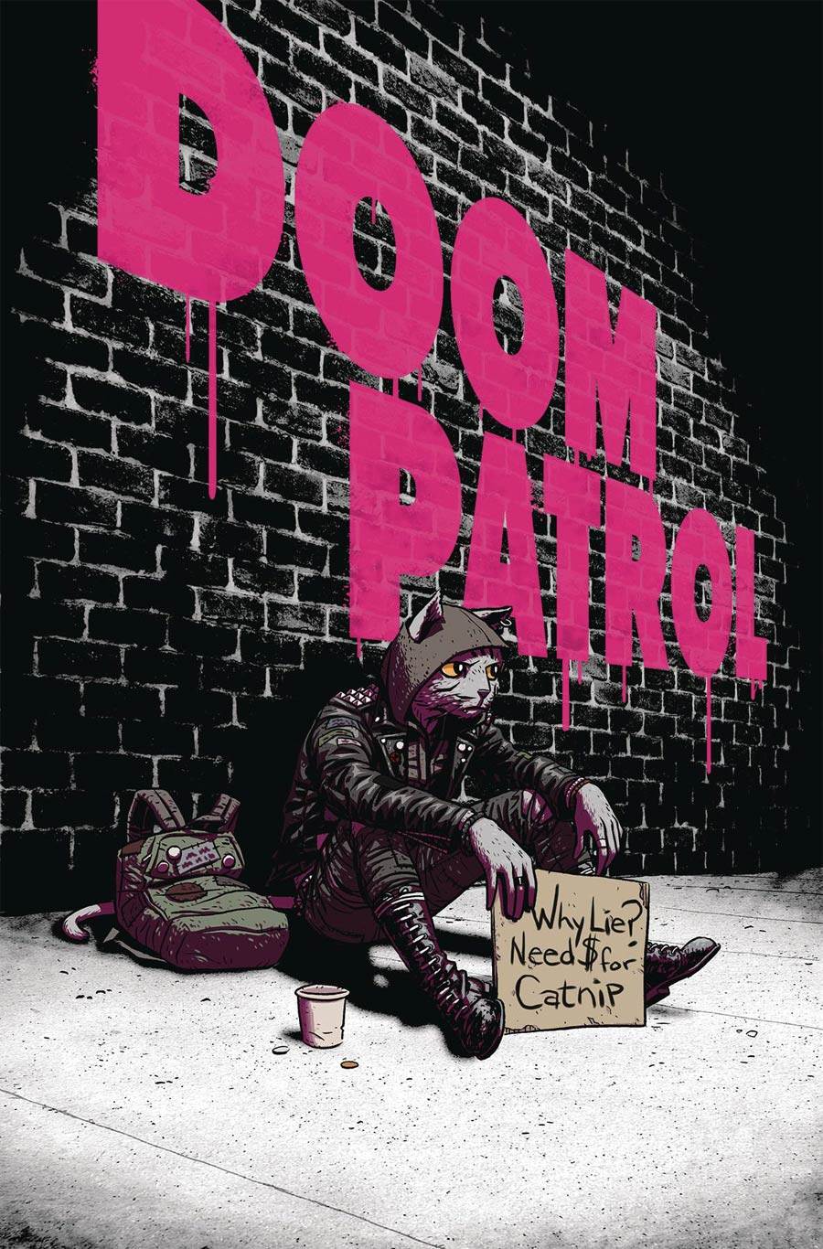 Doom Patrol #8, by Nick Derington. (DC Comics/Young Animal)