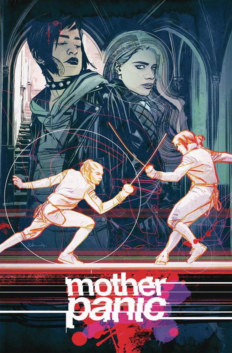 Mother Panic #11, by Tommy Lee Edwards. (DC's Young Animal)
