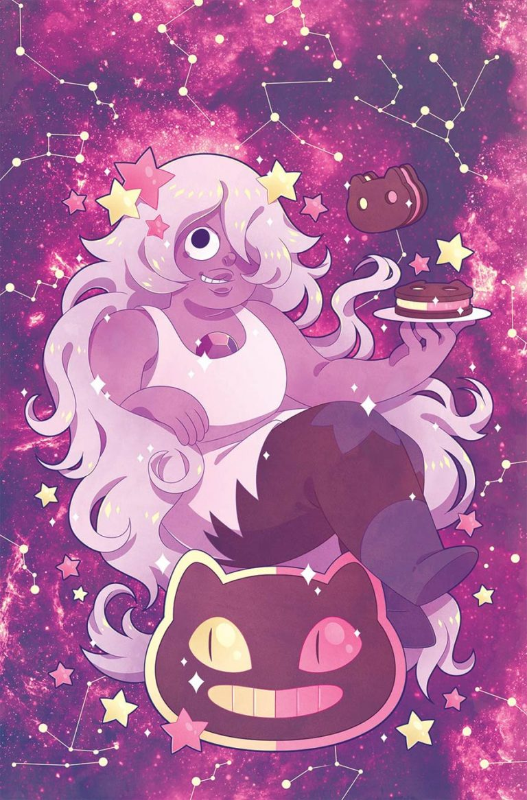 Steven Universe #8, by Missy Pena. (kaboom!)