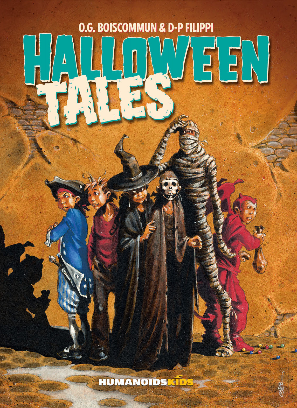 Cover to 'Halloween Tales'. Art by Olivier Boiscommun/Humanoids/Humanoids Kids