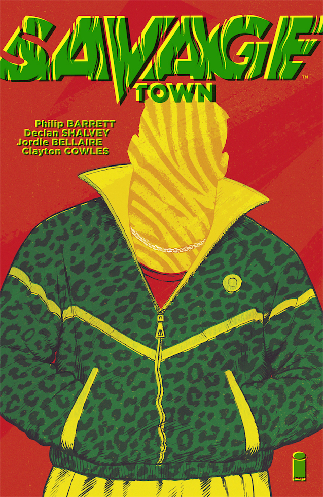 Cover to 'Savage Town' OGN. Art by Philip Barrett and Jordie Bellaire/Image Comics