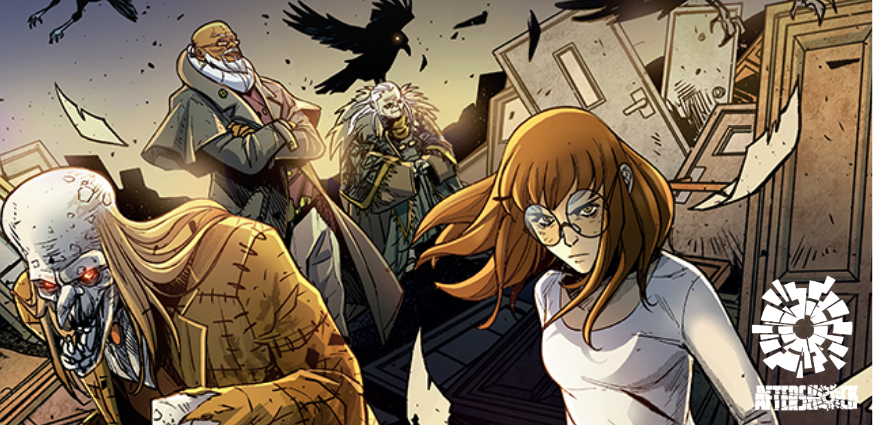 Between magic and madness is 'Backways', the new AfterShock title from Jordan & Carlini