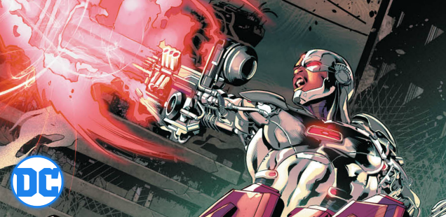 In this exclusive preview of 'Cyborg' #17, Vic makes like an ice cube and plays it cool