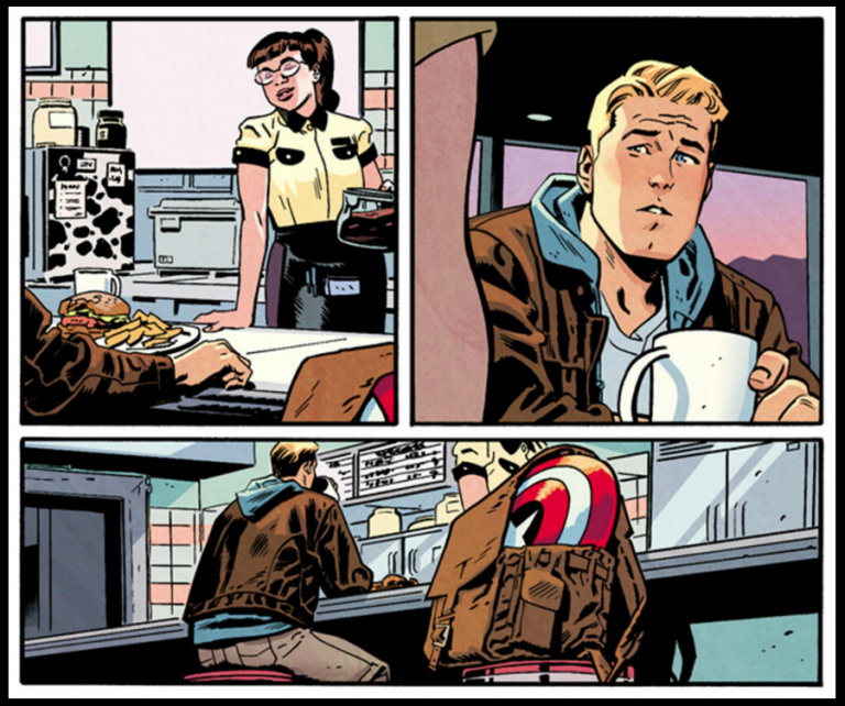 Interior panels to 'Marvel Legacy' #1. Art by Chris Samnee and Matthew Wilson/Marvel Comics