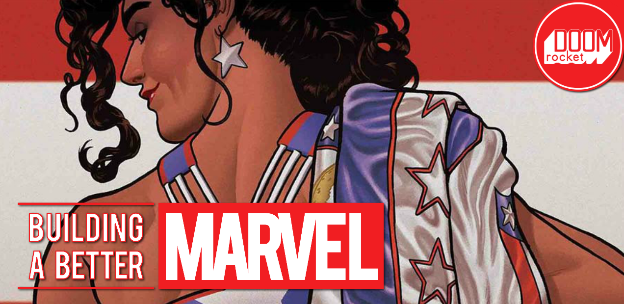 With 'America' #7, Gabby Rivera leads an all-star team on a kaleidoscopic journey