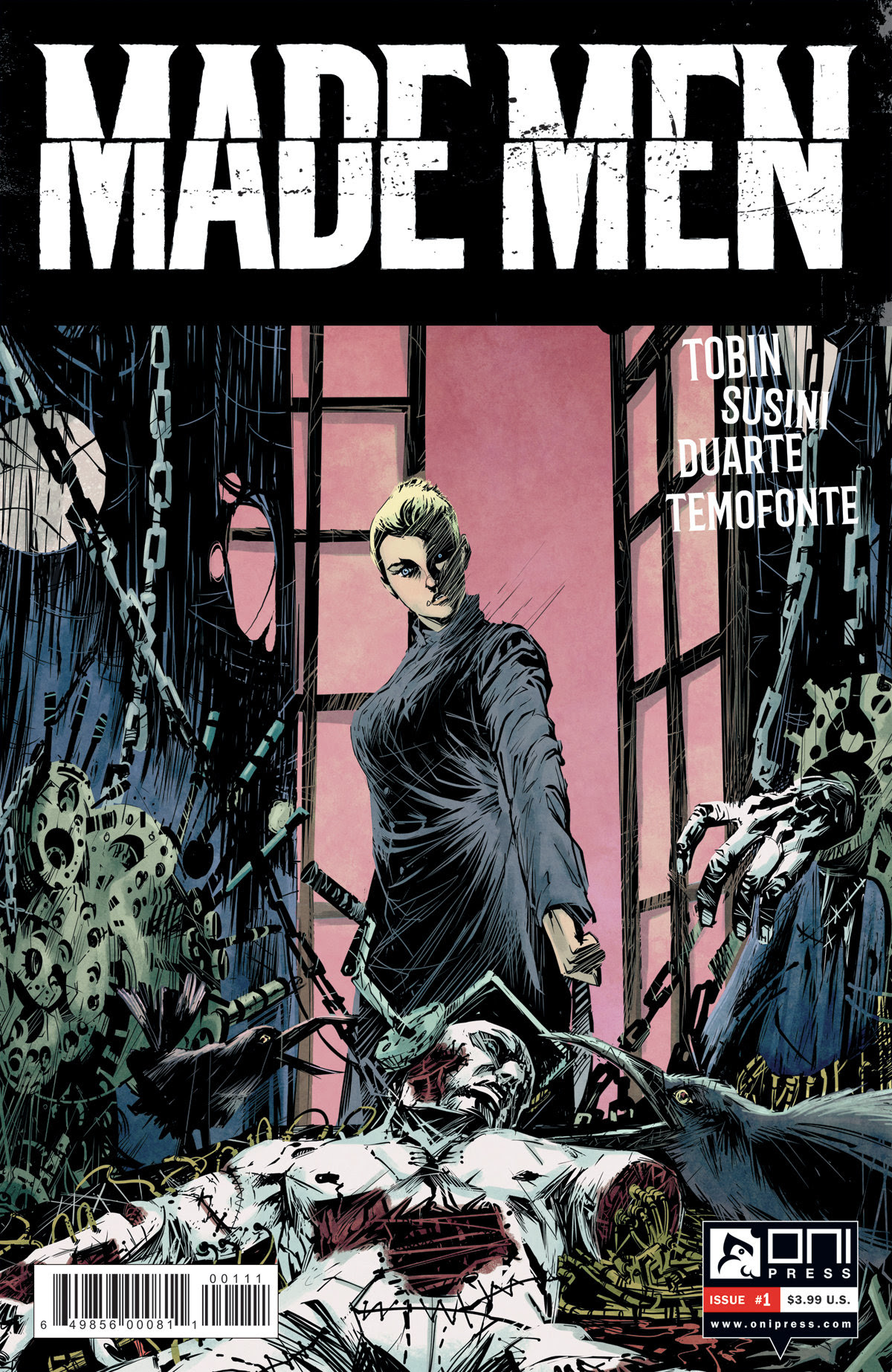 Cover to 'Made Men' #1. Oni Press