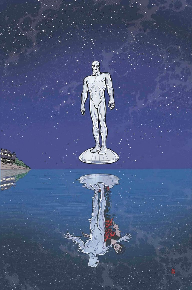 Silver Surfer #14, by Michael and Laura Allred. (Marvel Comics)