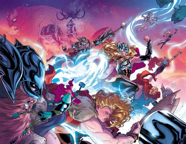 The Mighty Thor #700, by Russell Dauterman and Matthew Wilson. (Marvel Comics)