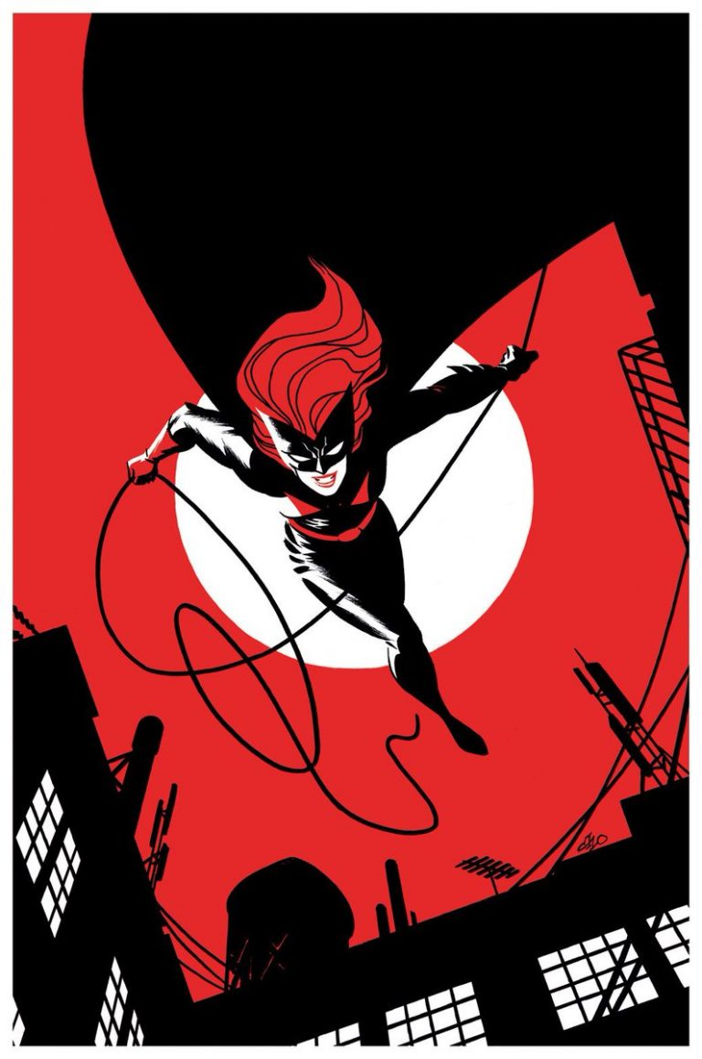 Batwoman #8, by Michael Cho. (DC Comics)