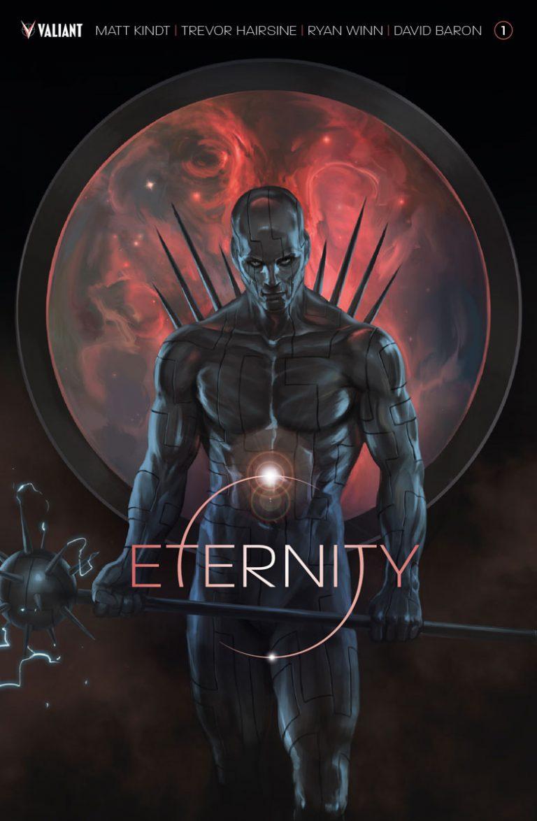 Cover to 'Eternity' #1. Art by Jelena Kevic-Djurdjevic/Valiant
