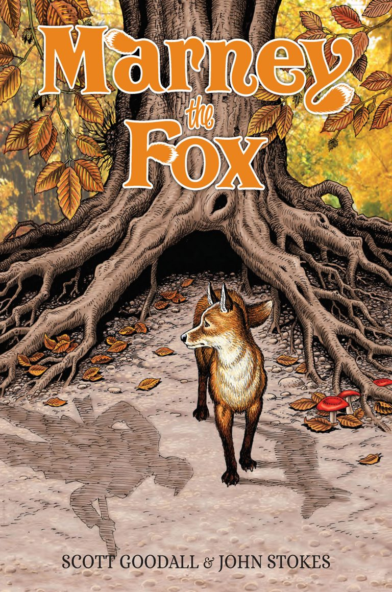 Cover to 'Marney the Fox'. Art by John Stokes/Rebellion