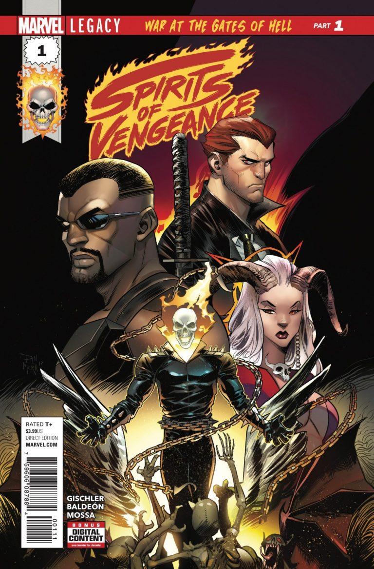 Spirits of Vengeance #1 (of 5)