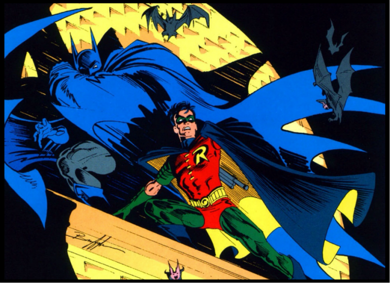Cover to 'Batman' #465. Art by Norm Breyfogle and Adrienne Roy/DC Comics