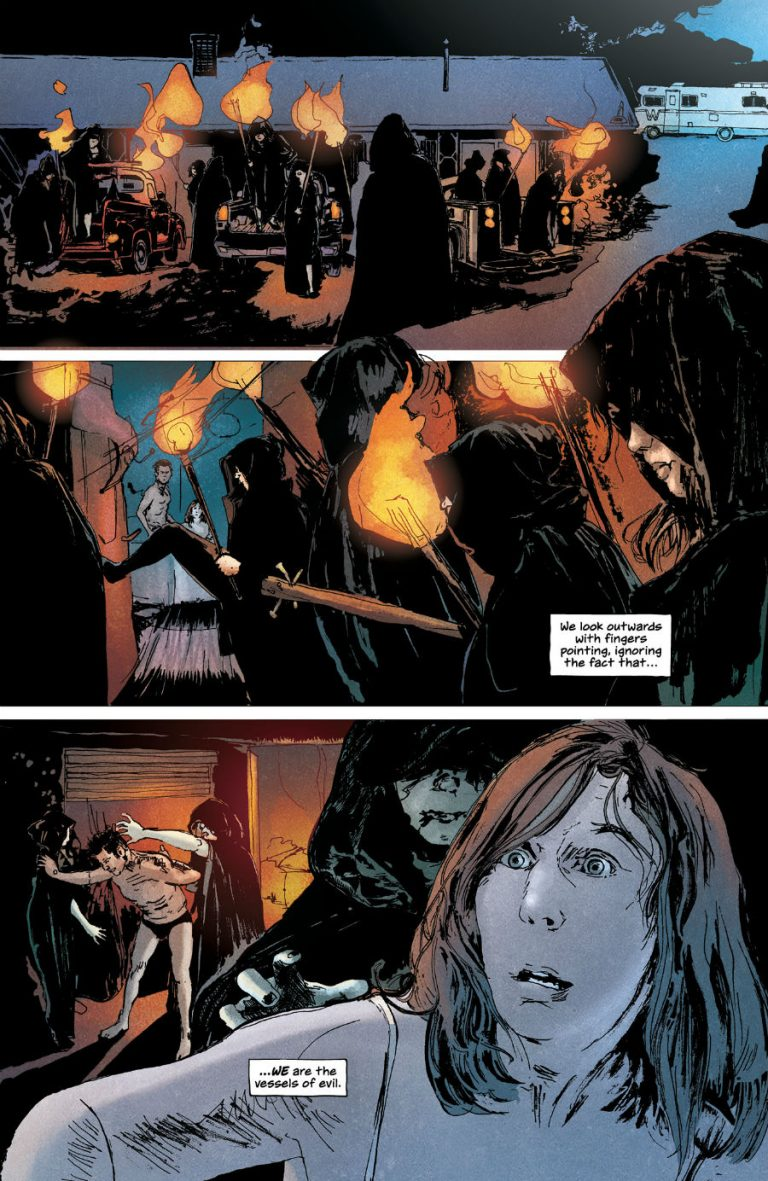 Interior page to 'Winnebago Graveyard'. Art by Alison Sampson and Stephanie Paitreau/Image Comics