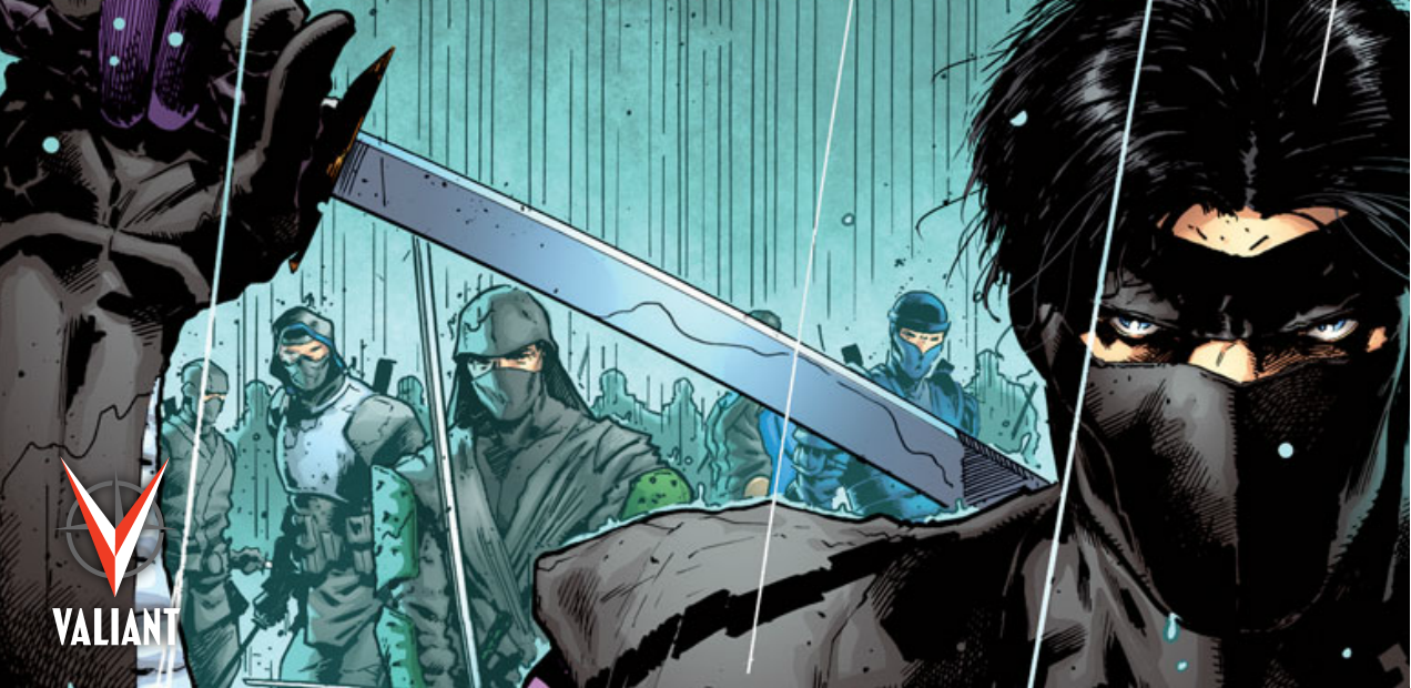 "Preview: Valiant furthers its killer ""ICONS"" line with 'Ninja-K' #1"