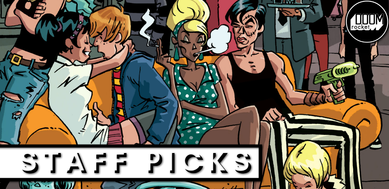 Staff Picks: Let's bask in the unabashed cool of IDW's 'Black Crown Quarterly'