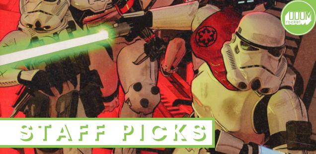 Staff Picks: We bid a fond farewell to Jason Aaron's stellar run on 'Star Wars'