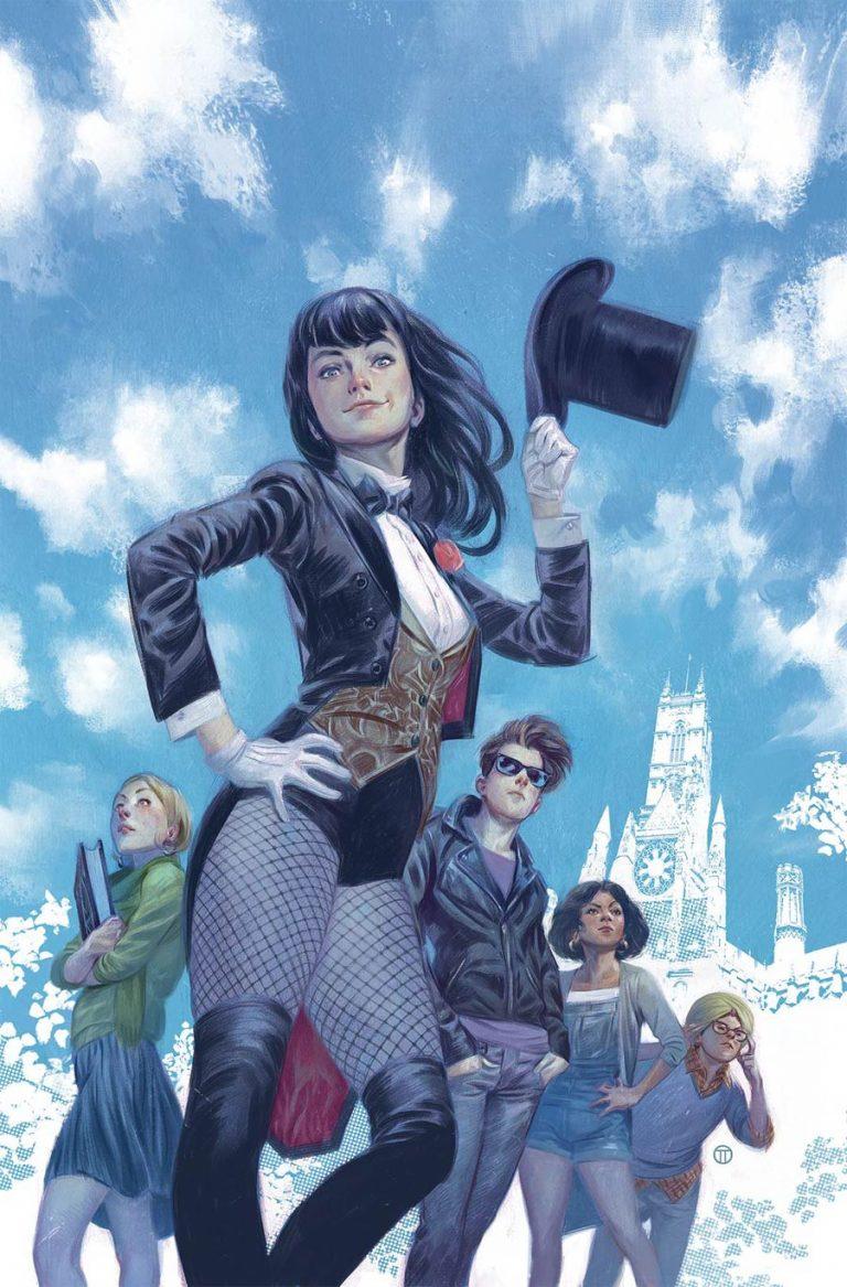 Mystik U #1, by Julian Totino Tedesco. (DC Comics)