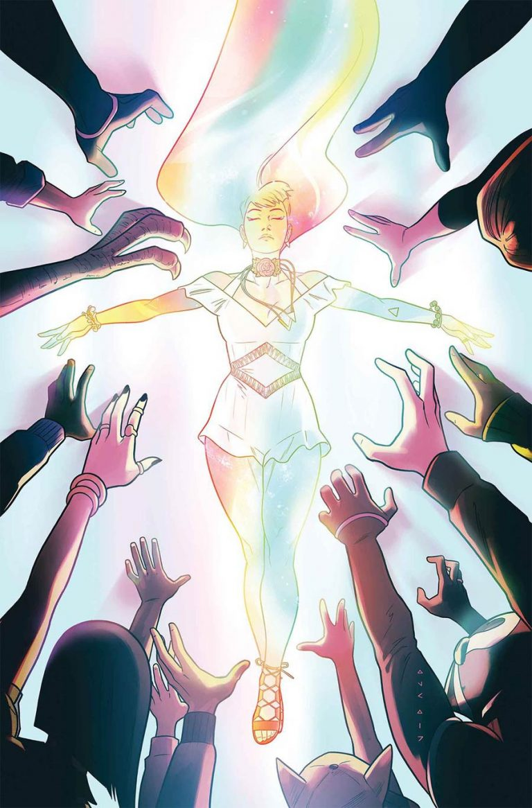 Runaways #3, by Kris Anka and Kevin Wada. (Marvel Comics)