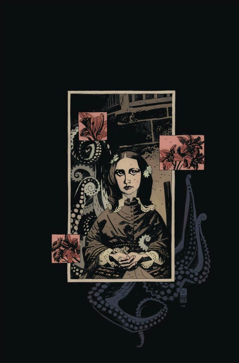Cover to 'Jenny Finn' #1. Art by Mike Mignola and Dave Stewart/Dark Horse Comics