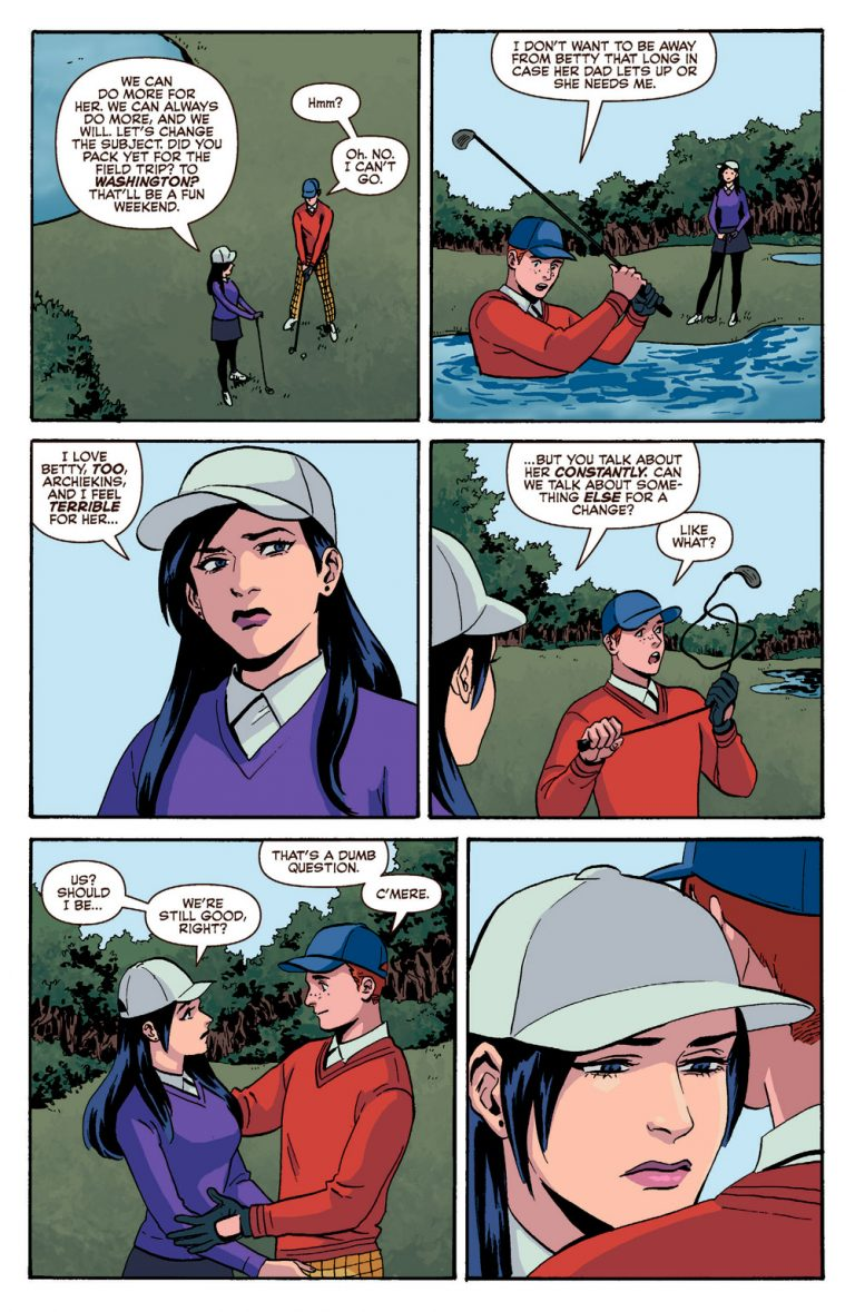 Interior page from 'Archie' #25. Art by Audrey Mok, Kelly Fitzpatrick, and Jack Morelli/Archie Comics